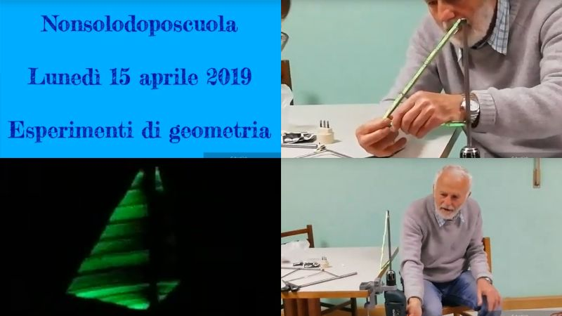 Esperimenti di geometria: guarda il video...
